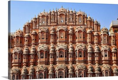 Hawa Mahal, built in 1799, Jaipur, Rajasthan, India