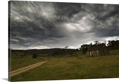 High Country hut, Jindabyne, New South Wales, Australia, Pacific