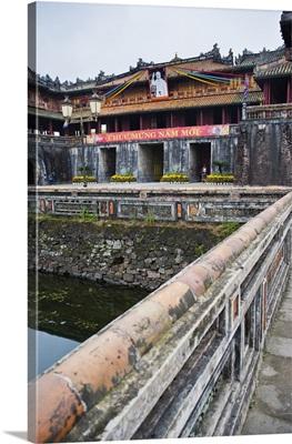 Hue Citadel Gates, The Imperial City, Hue, Vietnam, Indochina