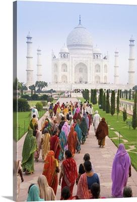 India, Uttar Pradesh, The Taj Mahal
