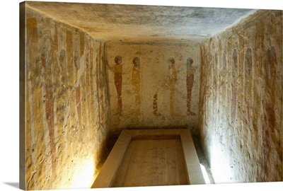 Interior, Valley of the Kings, Thebes, Egypt, Africa