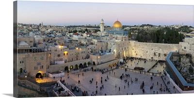 Jewish Quarter of the Western Wall Plaza, Jerusalem, Israel