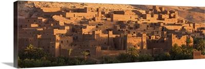Kasbah Ait Benhaddou, backdrop to many Hollywood epic films, near Ouarzazate, Morocco
