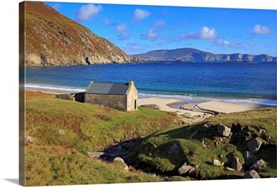 Keem Beach on Achill Island, County Mayo, Connaught, Republic of Ireland
