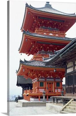 Kiyomizu Temple, Kyoto, Japan, Asia