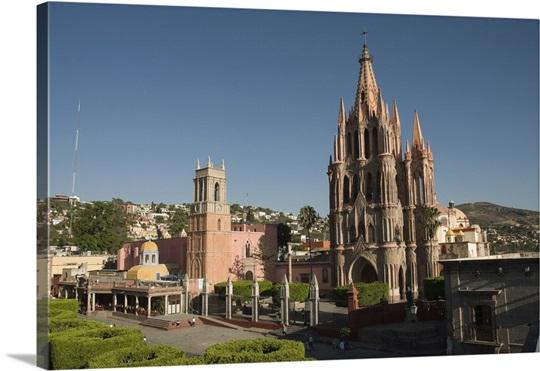 La Parroquia Church Notable For Its Fantastic Neo Gothic Exterior Mexico