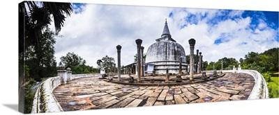 Lankarama Dagoba, Anuradhapura, Sri Lanka