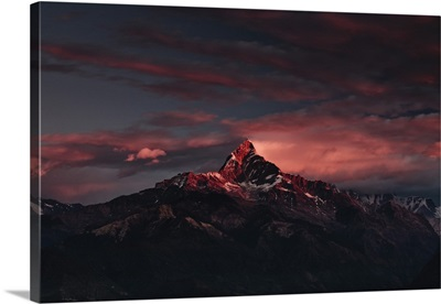 Machapuchare mountain, in the Annapurna Himal of, Nepal, Himalayas