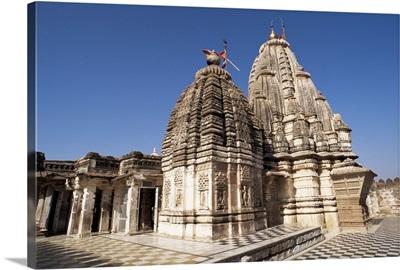 Magnificent Jain temple, dedicated to Mahavira, Osiyan, Rajasthan state, India