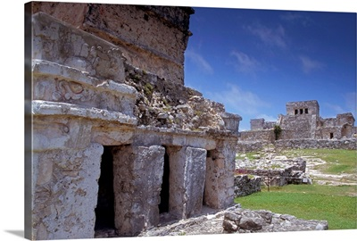 Mayan site of Tulum, Yucatan, Mexico, North America