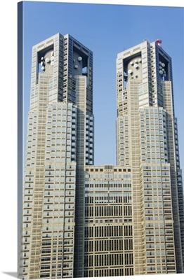 Metropolitan Government Building, Shinjuku District, Tokyo, Honshu Island, Japan