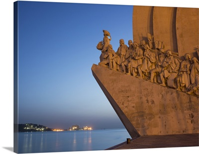 Monument to Discoveries, Belem, Lisbon, Portugal, Europe
