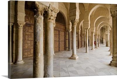 Mosque Okba (the Great Mosque), Kairouan, Tunisia, North Africa, Africa