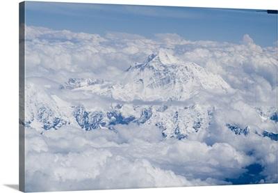 Mount Everest, Himalayas, border Nepal and Tibet, China, Asia