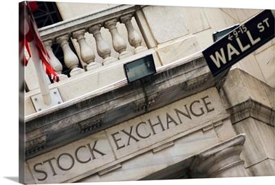 New York Stock Exchange, Wall Street, Manhattan, New York City