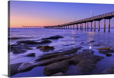 Ocean Beach Pier, San Diego, California