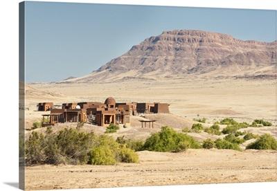 Okahirongo Lodge, Purros Conservancy Wilderness, Kaokoland, Namibia, Africa