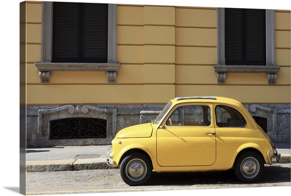 Old Car Fiat 500 Italy Europe