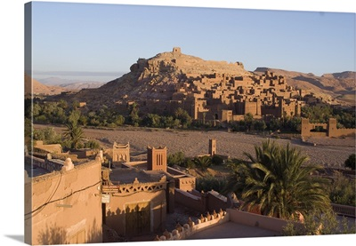 Old City, the location for many films, Ait Ben Haddou, Morocco, Africa