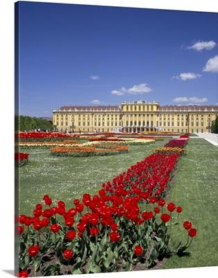 Palace and gardens, Schonbrunn, Vienna, Austria