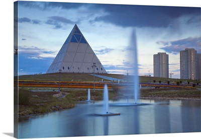 Palace of Peace and Reconciliation pyramid, Astana, Kazakhstan, Central Asia