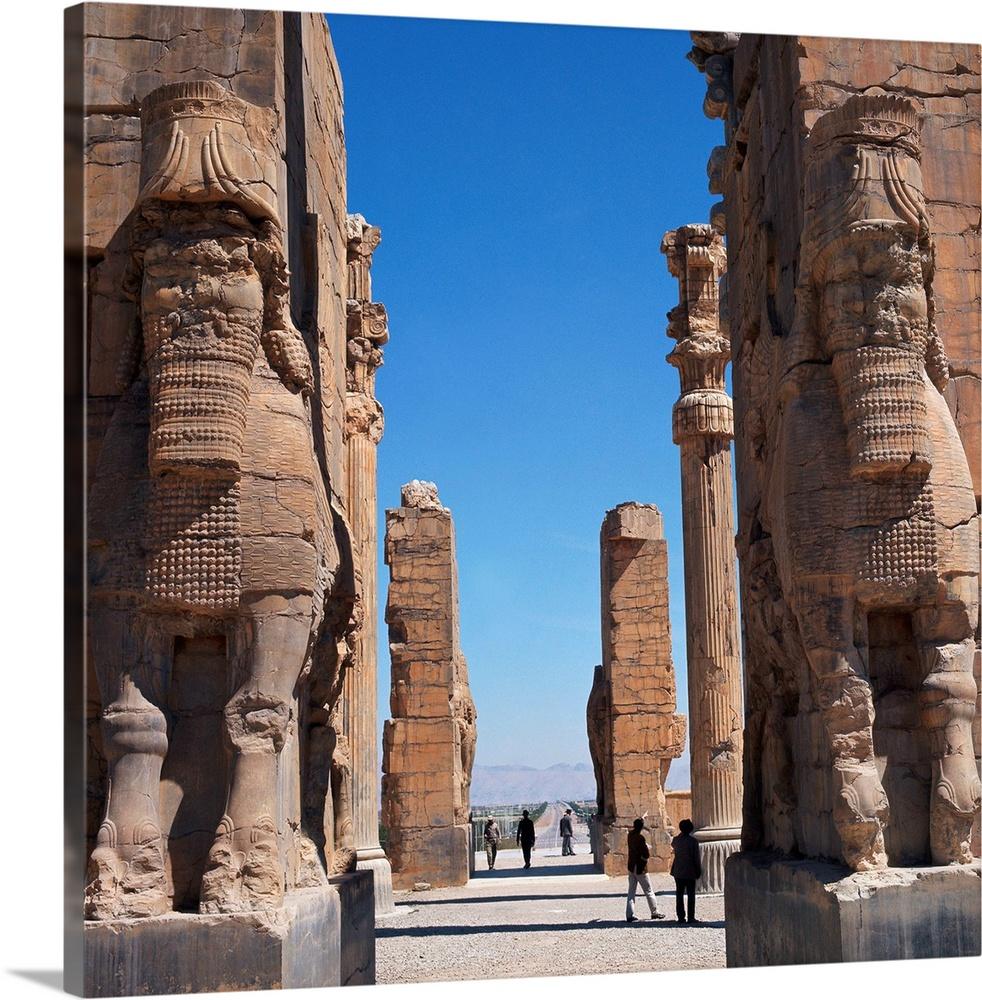 Porch Of Xerxes Persepolis Iran Middle East Wall Art Canvas Prints Framed Prints Wall Peels Great Big Canvas