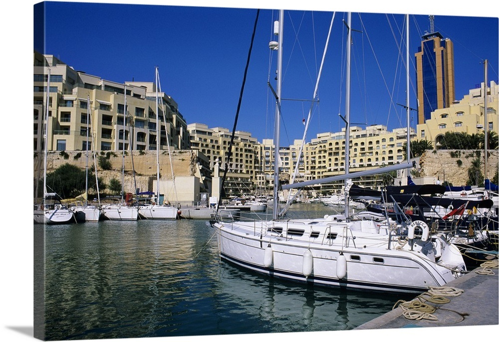 Portomaso Marina with exclusive apartments, Paceville, St  Julian's, Malta