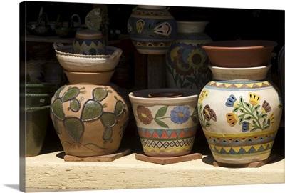 Pottery for sale, Oaxaca, Mexico