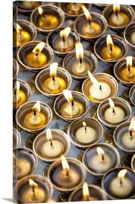 Prayer Candles, Kathmandu, Nepal