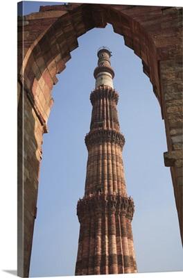 Qutab Minar Tower, New Delhi, India