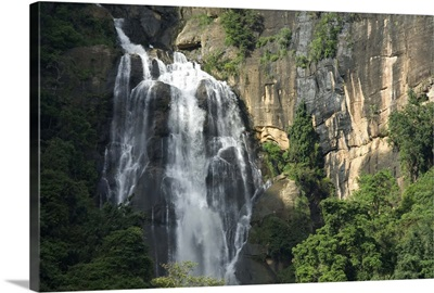 Rawana Falls, Ella Gap, Hill Country, Sri Lanka, Asia