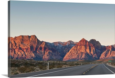 Red Rock Canyon outside Las Vegas, Nevada, United States of America, North America