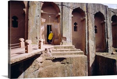 Rock cut Church of Gabriel and Raphael, Lalibela, Wollo region, Ethiopia