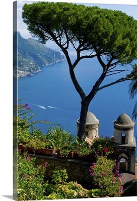 Rufolo view, Ravello, Amalfi Coast, Campania, Italy
