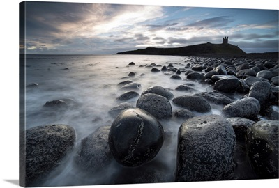 Ruin Of Dunstanburgh Castle, Northumberland, England