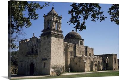 San Jose Mission, San Antonio, Texas, USA