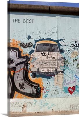 Section of Berlin Wall, Berlin, Germany