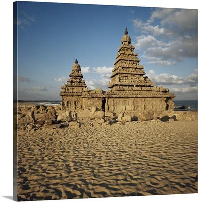 Shore Temple, Mahabalipuram, Tamil Nadu, India, Asia