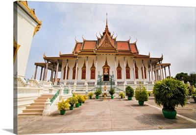 Silver Pagoda, at The Royal Palace, Phnom Penh, Cambodia, Indochina