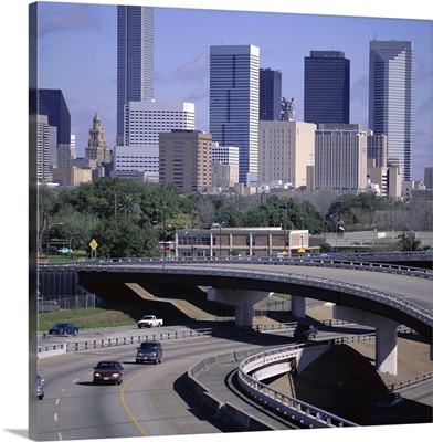 Skyline of Houston, Texas, United States of America