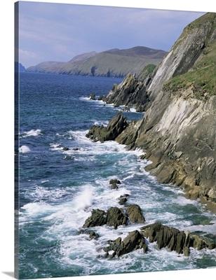Slea Head, Dingle Peninsula, County Kerry, Munster, Eire (Republic of Ireland)