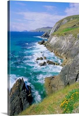 Slea Head, Dingle Peninsula, County Kerry, Munster, Republic of Ireland (Eire)