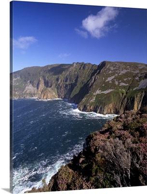Slieve League, highest cliffs in Europe, Bunglass Point, Republic of Ireland