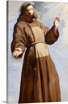 St. Francis Ecstatic, 1620, Palace Of Fine Arts Museum, Lille, Nord, France