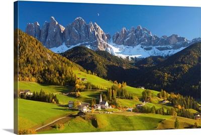 St. Magdalena, Val di Funes, Trentino-Alto Adige, Dolomites, Italy