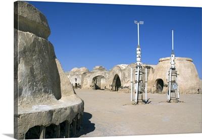 Star Wars set, near Nefta, Tunisia, Africa