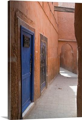 Street in the Souk in the Medina, Marrakech, Morocco