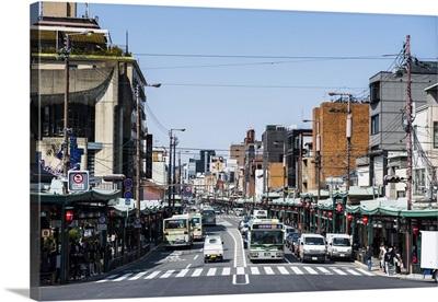 Street scene, Kyoto, Japan