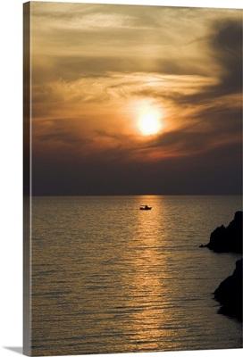 Sunset, Assos, Kefalonia (Cephalonia), Ionian Islands, Greece