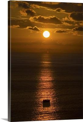 sunset in the Manuel Antonio Area, Pacific Coast, Costa Rica